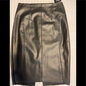 *NeW* Express Faux Leather Skirt